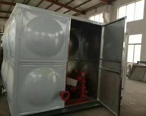 泵箱一体化水箱